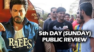 RAEES - 5th DAY (Sunday) PUBLIC REVIEW - CRAZY PUBLIC In Single Screen Theatres