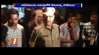 Drunken Womens Hulchul In Banjara Hills | Police Arrest | Hyderabad | iNews