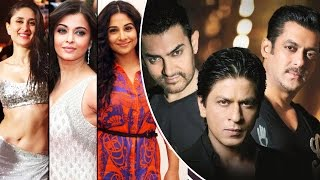 TOP Actresses Who REJECTED Film Opposite Bollywood KHAN'S