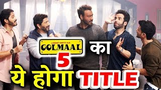 Ajay Devgn's Golmaal 5 TITLE Revealed - Golmaal 20-20