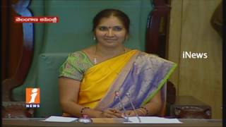 Cong MLA Jana Reddy Vs Minister Harish Rao On Irrigation Projects In TS Assembly Sessions | iNews