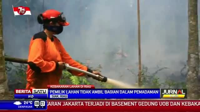 BPBD Tiap Kabupaten Dikerahkan Atasi Kebakaran Hutan