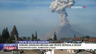 Gunung Sinabung Belum Reda