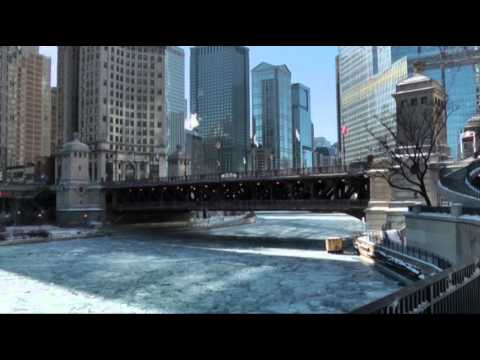 Raw- Chicago Hit by Deep Freeze News Video