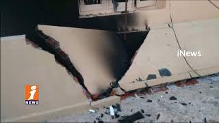 Gas Cylinder Blast in Nunevari Palli Panchayati Raj AE House | Kadapa | iNews