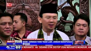 Ahok Minta Dishub Razia Kendaraan Tidak Laik di Jakarta