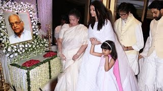 Bollywood Celebs At Aishwarya Rai's Father's CHAUTHA - Full HD Video