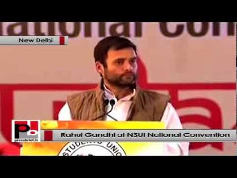 Rahul Gandhi- We want to promote more young leaders in the Congress