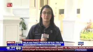Presiden Jokowi Saksikan Penandatanganan 644 Proyek Kemen PUPR