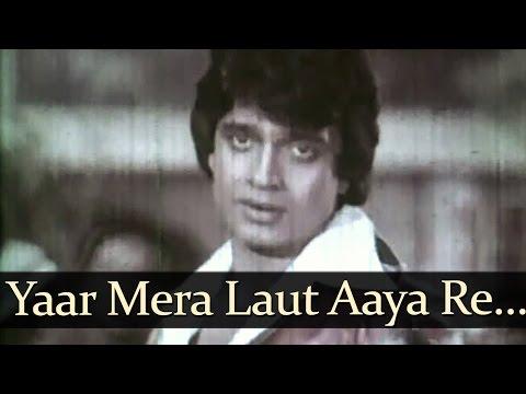 Yaar Mera Laut - Taxi Chor Songs - Mithun Chakraborty - Zarina Wahab - Anwar - Asha Bhosle - Bollywood Old Song