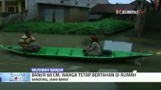 Rumah Terendam Banjir, Warga Enggan Mengungsi