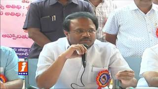 Minister Laxma Reddy Inaugurates Polio pulse Camp In Round Table School At Bhavani Nagar | iNews