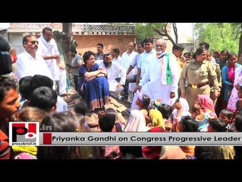 Young Priyanka Gandhi - charismatic and inspiring like former PM Indira Gandhi