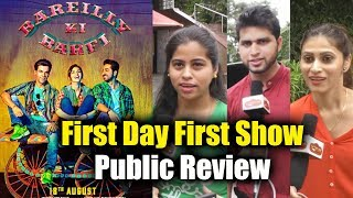 Bareilly Ki Barfi Public Review - First Day First Show - Kriti Sanon, Ayushmann And Rajkummar Rao