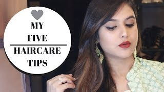 MY 5 HAIR CARE TIPS THAT EVERY INDIAN GIRL MUST KNOW + OZIVA PROTEIN & HERBS REVIEW