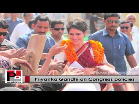 Young Priyanka Gandhi Vadra – progressive and inspiring leader like Indira Gandhi