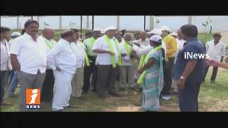 TRS MLA Jalagam Venkat Rao Participate 3rd Phase Of Haritha Haram In Palwancha   iNews