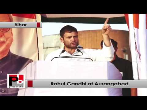 Rahul Gandhi - We always talk about women empowerment
