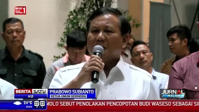 Tanggapan Prabowo Subianto Terkait Sikap PAN