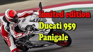 Ducati UK brings in limited edition Ducati 959 Panigale II rectv india
