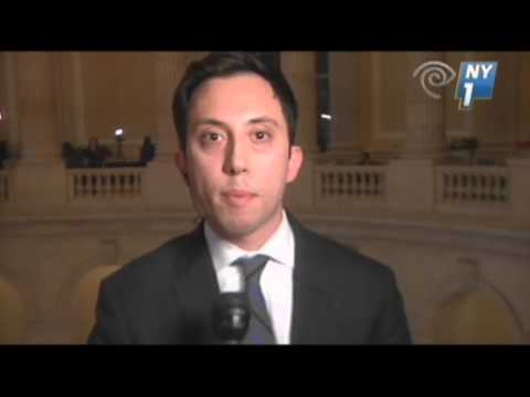 NY Rep. Threatens to Throw Reporter Off Balcony News Video