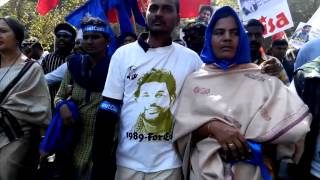 #JusticeForRohit- Dalit student Rohit Vemula's mother in Protest with Brinda Karat