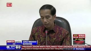 Rapat Terbatas Terkait Reklamasi Teluk Jakarta