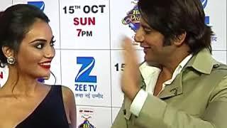 Qubool Hai fame Surbhi Jyoti & Karan Vir Bohra Dance at Zee Rishtey Awards