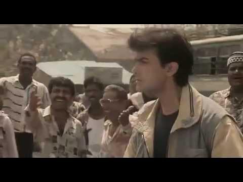 Aamir Khan angry with Juhi Chawla - Ishq - Bollywood Movie Comedy Scene