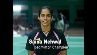 Saina Nehwal appeals for Voter Registration