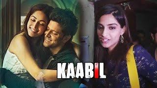 Sonam Kapoor At Hrithik Roshan's KAABIL Movie Screening   Outstanding Film