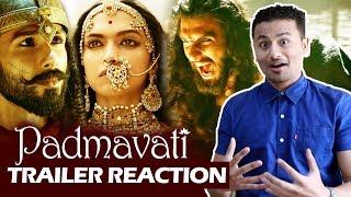 Padmavati Trailer HONEST Reaction - Deepika Padukone, Ranveer Singh, Shahid Kapoor