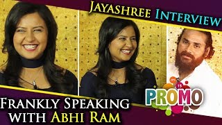 Jayashree Interview Promo | Frankly Speaking with Abhi Ram | Sandalwood Interviews
