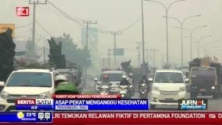 Kabut Asap di Riau Sudah Masuk Kategori Berbahaya
