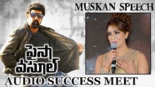 Muskan Sethi Speech at Paisa Vasool Movie Audio Success Meet Balakrishna, Shriya, Puri Jagannadh