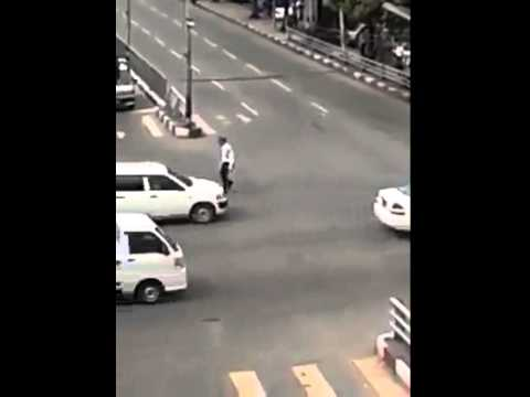 Michael Jackson as Traffic Police - Best Funny Video
