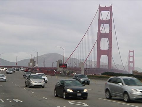 Golden Gate Bridge to Close for New Barriers News Video