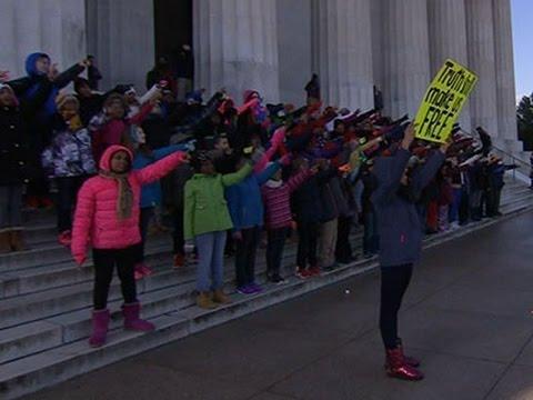 Washington Students Recite MLK's 'Dream' Speech News Video
