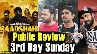 Baadshaho Public Review - 3rd Day Sunday - HOUSEFULL Theatres - Ajay Devgn, Emraan Hashmi