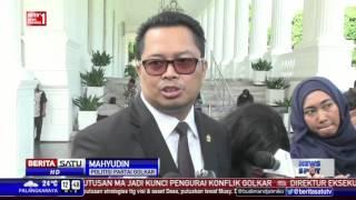 Politisi Golkar Minum Teh Bersama di Istana Negara