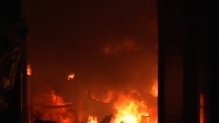 -विद्युत विभाग के गोदाम में लगी भीषण आग, लाखों के उपकरण जलकर खाक