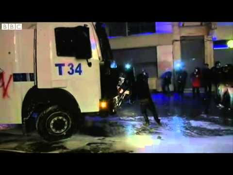 Fireworks and water cannon at Turkey internet protest News Video