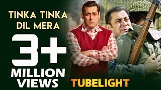 Salman's Tinka Tinka Dil Mera CROSSES 3 Million Views - Fastest Views Record - Tubelight