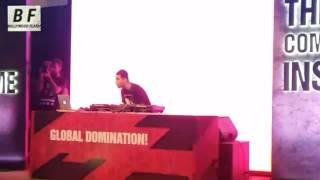 Nucleya Live Performance At Pheonix Mumbai - Crazy Dance- Fan Goes Crazy