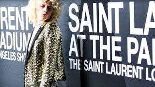 LA Goes Gaga for Saint Laurent Show News Video
