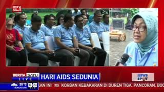 Peringatan Hari AIDS Sedunia di Taman Suropati