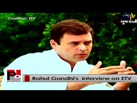 Rahul Gandhi's Full interview on ETV