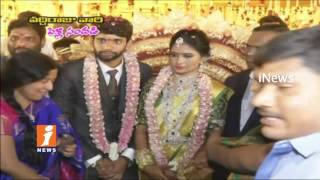 Prominent Industrialist Vaddiraj Ravichandra Son Wedding In Khammam  | iNews