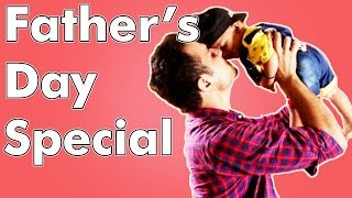 I love you DAD - Father's Day Special ( ft. SATELLITE TV ) || THECRAZZYSTREET