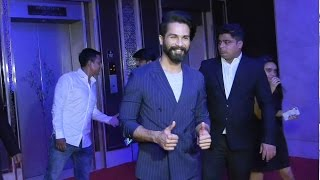 Shahid Kapoor At Montblanc Campaign To Support UNICEF Literacy Projects